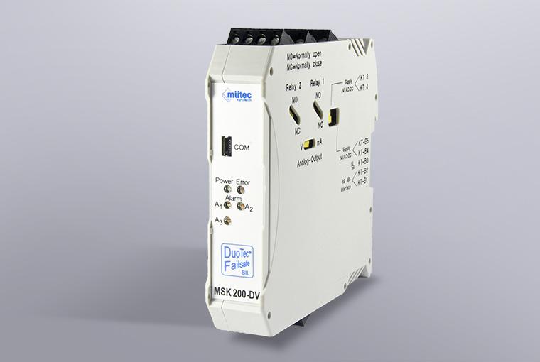 SIL2-mV-Transmitter MSK 200-DV